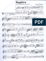Ferrer Ferran - Baghira Sonatina Para Saxofon Alto y Piano (Alto Saxophone & Piano) Copy