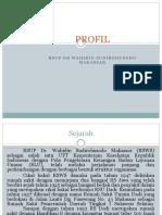Profil RSUP Dr.wahidin Sudirohusodo