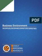 Business Environment 1-50