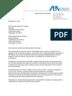 ABA Letter to Senator Grassley