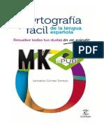 Ortografía Fácil de La Lengua Española Leonardo Gómez Torrego-2