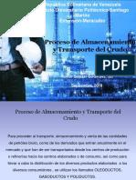 Proceso de Almacenamiento y Transporte Del Crudo. Proceso de Campo