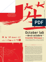 Programme October Lab 2018 Ensemble Telemaque