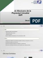IMPI presentacion de la Secretaria de Economia