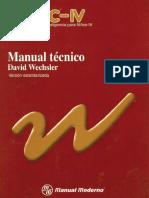 Manual Test (WISC-IV) Técnico