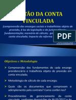 Elo Consultoria - Conta Vinculada Slides 27 e 28-09-2017