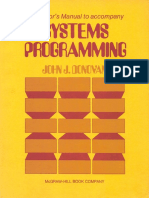 Instructors Manual to accompany Systems Programming by John J. Donovan.pdf