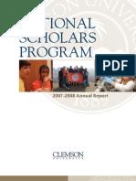 2007-2008 NSP Annual Report
