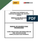 Tutorial Proceso Electronico Seace