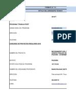 Formatos Trabaja Peru 2018