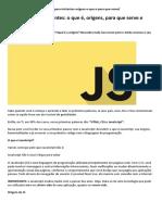 """BeCode _ JavaScript para iniciantes o que é, origens, para que serve e """"Hello World"""".pdf"""