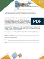 Anexo -Paso 1 - Reflexionar Sobre El Rol Del Psicólogo Educativo