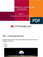 Module 1 Intro to Environmental Issues