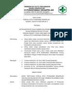 8.7.2 EP 3 SK Keterlibatan Petugas Dalam Peningkatan Mutu Klinis