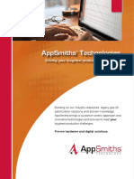 AppSmiths Technology Overview Brochure