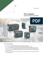 PLCs Haiwell Catalogo 2017