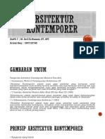 Arsitektur kontemporer (Kamis 14-9-2018).pptx