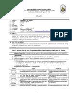 Silabo Mecanica de Suelos -Edlrr-2018-II