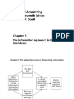 Scott 7e 2015 Chapter 05 the Value Relevance of Accounting Information
