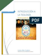 Trabajo Pre Final de Introducción a La Teología.