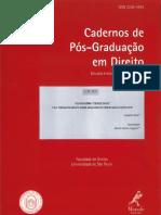 Cadernos de Pós-graduaçao em Direito 39 2016