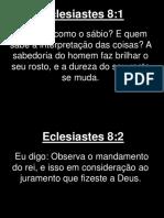 Eclesiastes - 008