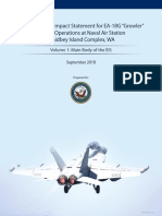 Volume 1 of Final Environmental Impact Statement for EA-18G Growler Operations at Naval Air Station Whidbey Island