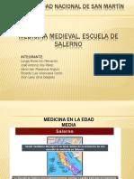 Medicina Medieval, Escuela Salerno