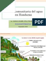 Gestión Comunitaria Del Agua Honduras