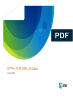 U-ftp vs F-utp Cat6a Lan Cables