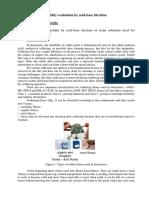 6. Acidity Evaluation by Acid - Base Titration