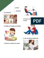 Ejemplos de Hábitos de Estudio