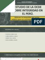 Estudio de La Ocde Sobre Integridad en El Perú
