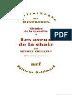 Michel Foucault - Les aveux de la chair.pdf