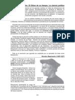 Maquiavelo, Reforma y Contrareforma