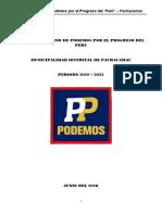 Podemos Por El Progreso Del Perú