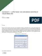 Aplicación 1_ Como Hacer Una Calculadora Sencilla en Visual Basic.net _ Enator