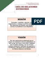 Informe Ejecutivo de la Secretaria de Relaciones Exteriores 3er Trimestre 2009.pdf
