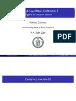 Esempi progetto contatori