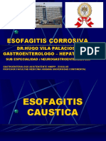 CLASE N°9 - ESOFAGITIS CORROSIVA