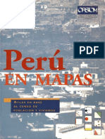 INEI 1997 - Perú en Mapas, Atlas en Base a Censo 1993