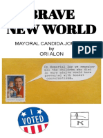 Brave New World Mayoral Candida Journal by Ori Alon 2018 Alfassi Books