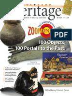 Colorado Heritage Magazine - Winter 2017/2018