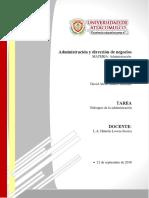 Enfoques de La Administración-Tarea 2