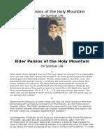 Elder Paisios of the Holy Mountain- On spiritual Life.pdf