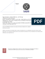 Scandinavian Studies Volume 85 Issue 3 2013 [Doi 10.5406%2Fscanstud.85.3.0355] Bjørn Bandlien -- Hegemonic Memory, Counter-Memory, And Struggles for Royal Power- The Rhetoric of the Past in the Age Of