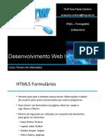 Aula 04 Desenvolvimento WEB 23-03-2018