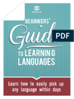 Guide to learning languages