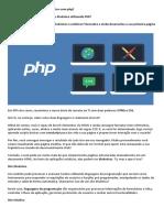 BeCode_Guia Para Desenvolver o Seu 1º Site Dinâmico Utilizando PHP
