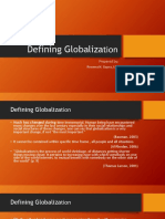 Chapter 1 Defining Globalizationupdated
